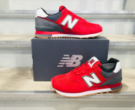 NEW BALANCE ML574 SKD ROUGE / GRIS