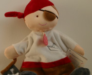 MARIONNETTE PIRATE/Doudou & Compagnie