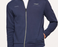 Sweat-shirt zippé en jersey