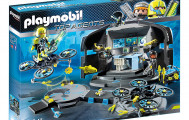 Playmobil 9250 base des top Agents 2