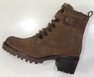 Boots lacet taupe