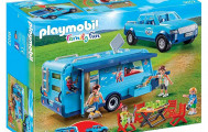 Playmobil 9502 pick up et caravane special fun parc