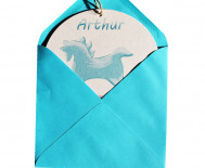 CHEVAL A BASCULE TURQUOISE