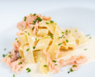 PAPPARDELLE GRATINATE