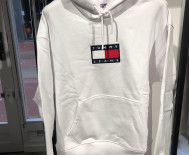 Sweat capuche Homme Tommy Jeans - Flag Hoodie