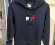 Sweat capuche Femme Tommy Jeans - Flag Hoodie