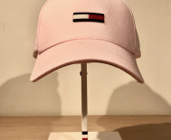 Casquette femme Tommy Jeans - Flag rose
